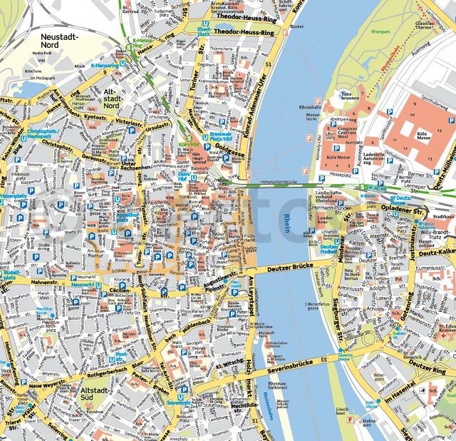 stadtplan köln